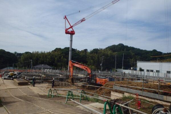<横浜情報>特別養護老人ホーム上永谷町新築工事 工事の進捗です! イメージ